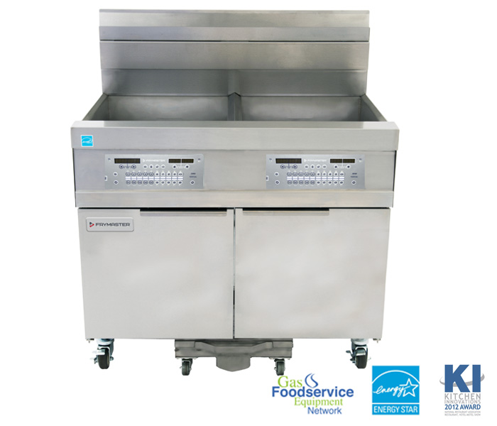 Frymaster - 1814 High-Production, Gas Oil-Conserving Fryers - 2