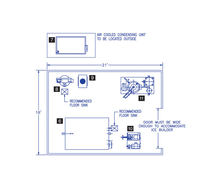 garland canada product Chiller Refrigeration Cycle Diagram